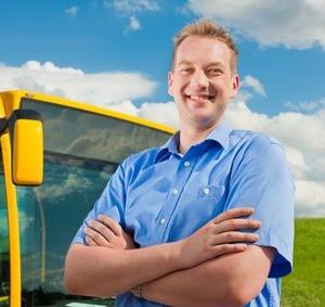 Bewerbung als Busfahrer