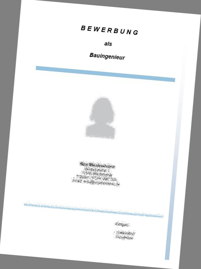 Deckblatt Bauingenieur