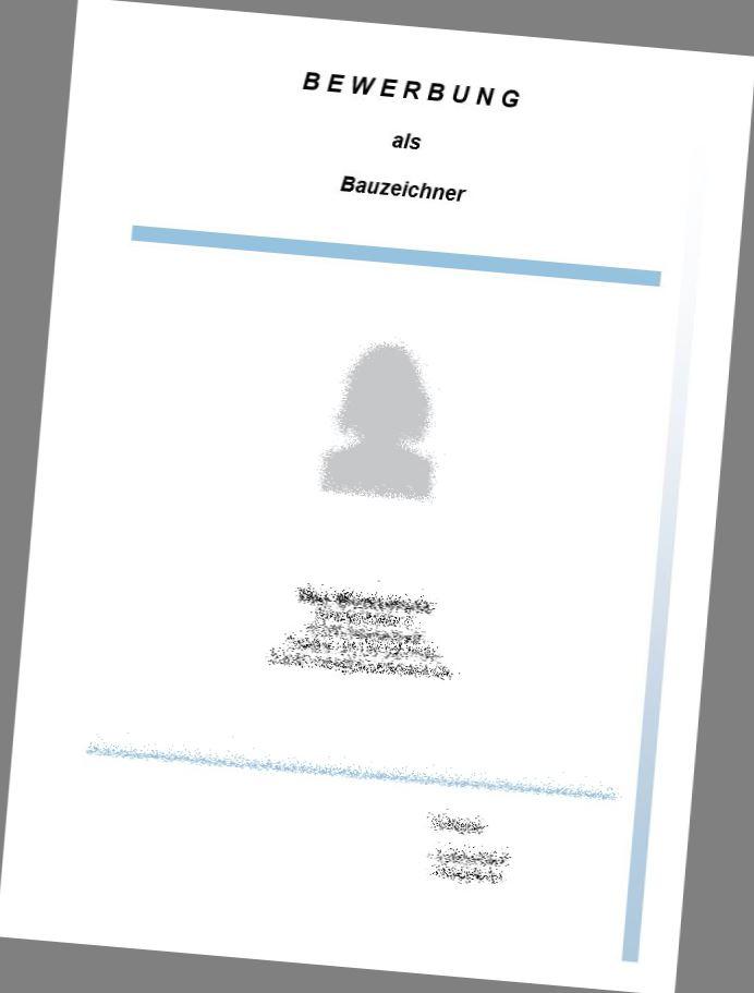 Deckblatt Bauzeichner