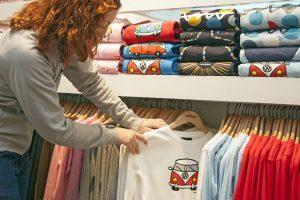 Verkäuferin im Einzelhandel